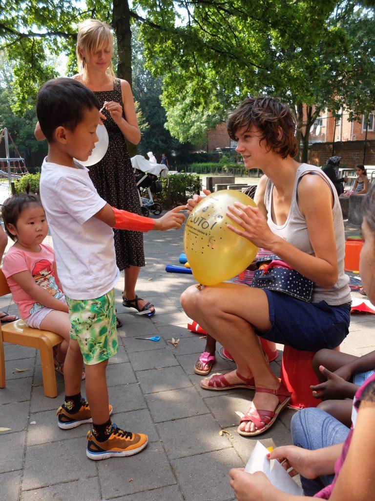 Evalueren aan de hand van balonnen